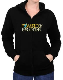 Powered By Episcopalian Zip Hoodie - Womens