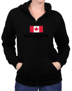 Property of Canadian Nation Zip Hoodie - Womens