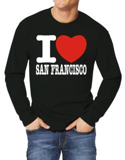 I Love San Francisco Long-sleeve T-Shirt