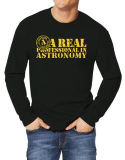 A Real Professional In Astronomy Long-sleeve T-Shirt