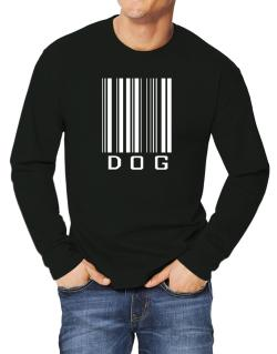 Dog Barcode / Bar Code Long-sleeve T-Shirt