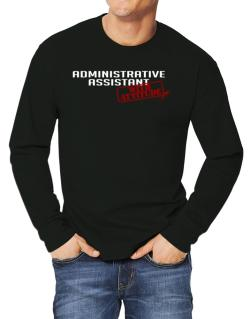 Administrative Assistant With Attitude Long-sleeve T-Shirt