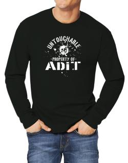 Untouchable : Property Of Adit Long-sleeve T-Shirt