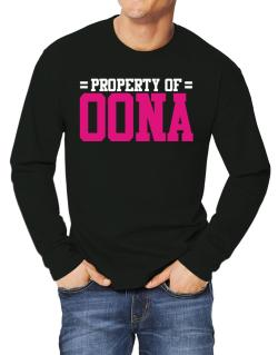 Property Of Oona Long-sleeve T-Shirt