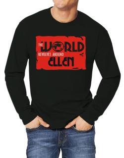 The World Revolves Around Ellen Long-sleeve T-Shirt