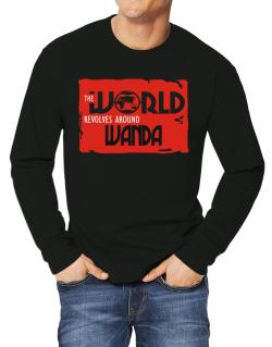 The World Revolves Around Wanda Long-sleeve T-Shirt