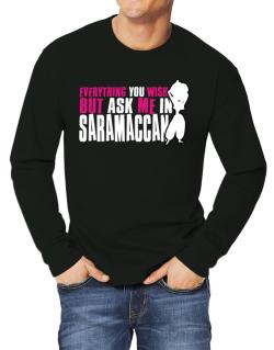 Anything You Want, But Ask Me In Saramaccan Long-sleeve T-Shirt