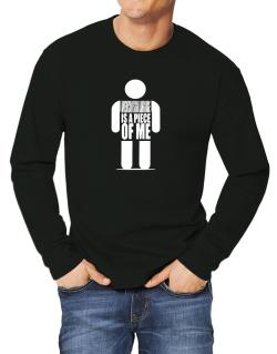 American Sign Language Is A Piece Of Me Long-sleeve T-Shirt