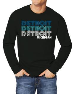Detroit State Long-sleeve T-Shirt