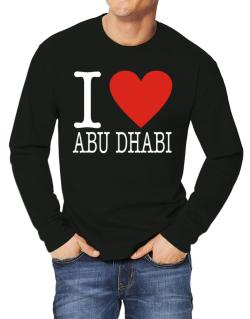 I Love Abu Dhabi Classic Long-sleeve T-Shirt