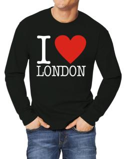 I Love London Classic Long-sleeve T-Shirt