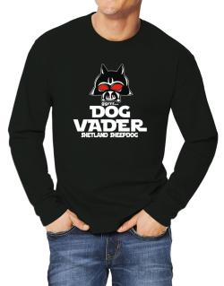 Dog Vader : Shetland Sheepdog Long-sleeve T-Shirt