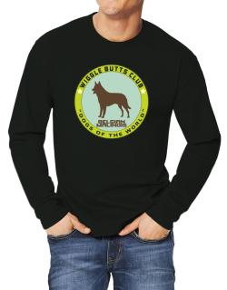 Belgian Malinois - Wiggle Butts Club Long-sleeve T-Shirt