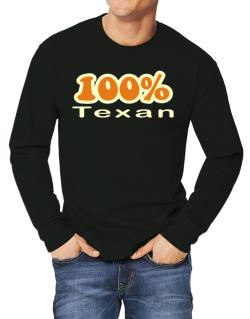 100% Texan Long-sleeve T-Shirt