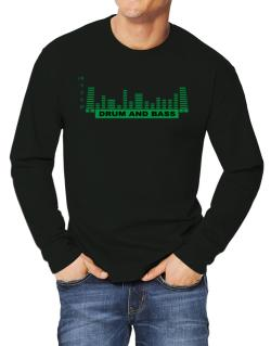 Drum And Bass - Equalizer Long-sleeve T-Shirt