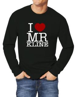I Love Mr Kline Long-sleeve T-Shirt