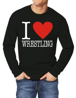 I Love Wrestling Classic Long-sleeve T-Shirt