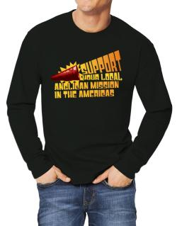 Support Your Local Anglican Mission In The Americas Long-sleeve T-Shirt