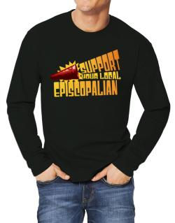 Support Your Local Episcopalian Long-sleeve T-Shirt