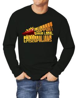 Support Your Local Episcopalians Long-sleeve T-Shirt