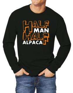 Half Man , Half Alpaca Long-sleeve T-Shirt