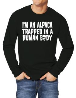 I Am Alpaca Trapped In A Human Body Long-sleeve T-Shirt