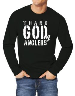 Thank God For Anglers Long-sleeve T-Shirt