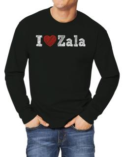 I love Zala Long-sleeve T-Shirt