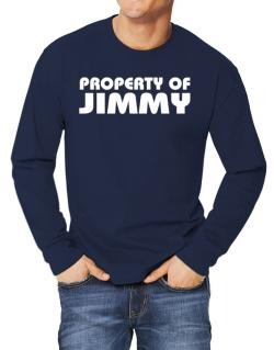 """ Property of Jimmy "" Long-sleeve T-Shirt"