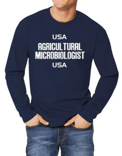 Usa Agricultural Microbiologist Usa Long-sleeve T-Shirt