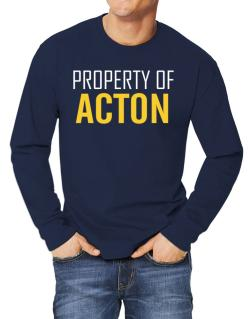 Property Of Acton Long-sleeve T-Shirt