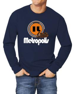 Metropolis - State Long-sleeve T-Shirt