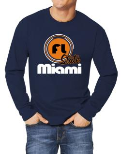 Miami - State Long-sleeve T-Shirt
