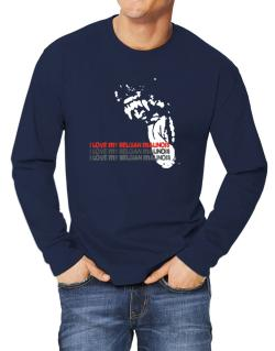 I Love My Belgian Malinois Long-sleeve T-Shirt