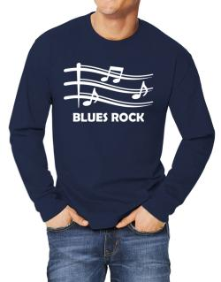 Blues Rock - Musical Notes Long-sleeve T-Shirt