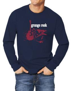 Grunge Rock - Feel The Music Long-sleeve T-Shirt