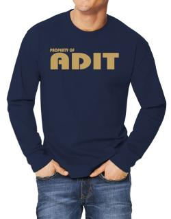Property Of Adit Long-sleeve T-Shirt