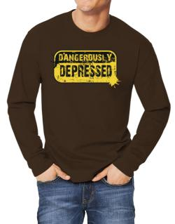 Dangerously Depressed Long-sleeve T-Shirt