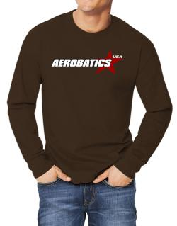 Aerobatics Usa Star Long-sleeve T-Shirt