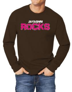 Jayashri Rocks Long-sleeve T-Shirt