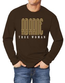 Abarne True Woman Long-sleeve T-Shirt