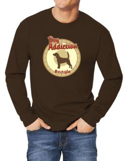 Dog Addiction : Beagle Long-sleeve T-Shirt