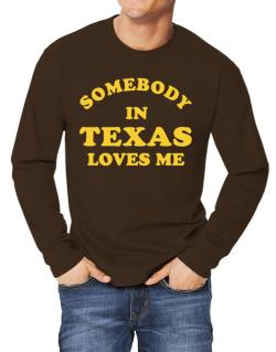 Somebody Texas Long-sleeve T-Shirt