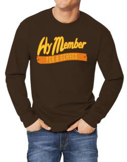 Hy Member For A Reason Long-sleeve T-Shirt