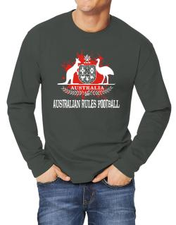 Australia Australian Rules Football / Blood Long-sleeve T-Shirt