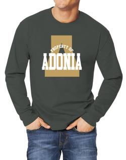 Property Of Adonia Long-sleeve T-Shirt