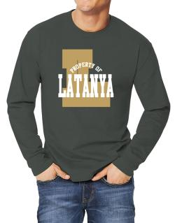 Property Of Latanya Long-sleeve T-Shirt