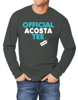Official Acosta Tee - Original Long-sleeve T-Shirt