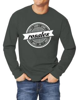 100% Rosales 2 Long-sleeve T-Shirt