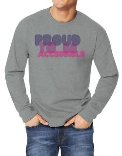 Proud To Be Accessible Long-sleeve T-Shirt